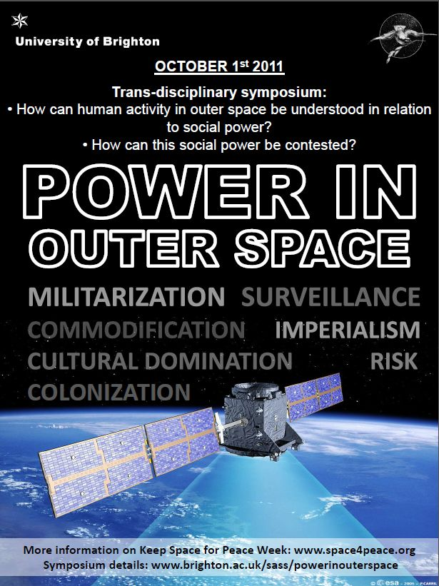 peace keeping in outer space Outer space by: gabbie sanchez outer space started about 100 kilometers above the earth, but there is still part of the earth's atmosphere outer space is the void.